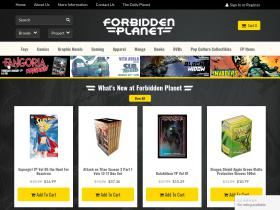 Forbidden Planet Voucher Codes
